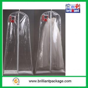 Wholesale Transparent Wedding Dress Garment Bags pictures & photos