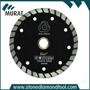 "6"" Granite Diamond Turbo Wave Cutting Blade Saw for Grinder pictures & photos"