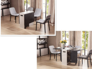 Modern Design Foldable Dining Table (CT-2032) pictures & photos