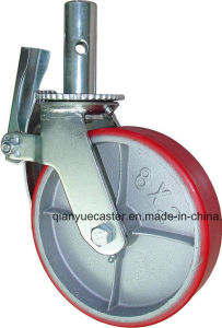 "6′′ and 8"" Universal Scaffolding Caster for Mobile Platform (Scaffolding Caster Wheel) pictures & photos"