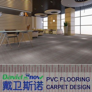 Carpet Effect Anti Slip Vinyl Planks Floor pictures & photos