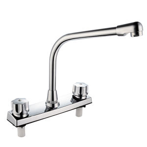 Faucet Mixer With Hot and Cold Handle (JY-1022) pictures & photos