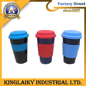 Customized Plastic Coffee Mug for Promotion Gift (MDG-24) pictures & photos
