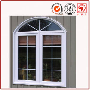 European and American Style Arch Aluminium Casement Window pictures & photos