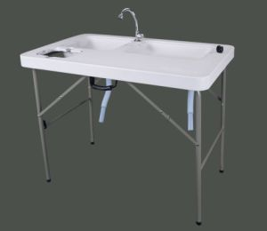 HDPE Top Blow-Molding Fillet Table (PYZ-100) pictures & photos
