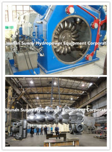 Hydro (Water) Pelton Turbine-Generator High Capacity 2000~6000kw/Hydropower Turbine Alternator pictures & photos