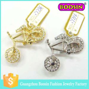 European Fashion Silver Jewelry Crystal Bag Charm Wholesale pictures & photos