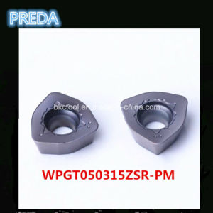 Standard Type of Carbide Inserts Polished Wpgt050315zsr-Pm pictures & photos