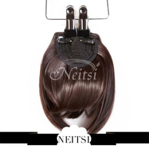 2015 Newest Style Japan Kanekalon Synthetic Clip in Bang pictures & photos