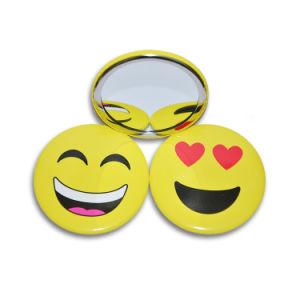 Smily Face High Quality Portable Compact Mirror pictures & photos