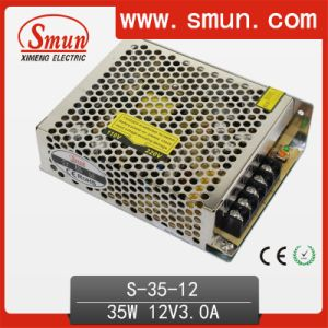 35W 12V 3A AC/DC Single Output Switching Power Supply pictures & photos