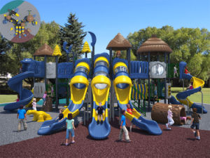 (Featured!) Kaiqi Large Prehistoric Series Children′s Outdoor Playground (KQ500002A) pictures & photos