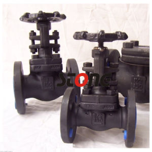 Forge Steel Bonnet Bolt / Weld Bonnet Flange Globe Valve pictures & photos