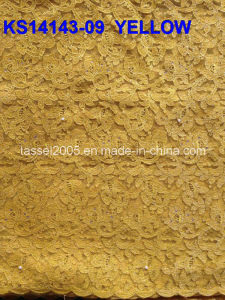 Hot Selling African Chemical Lace for Wedding Dress/High Quality African Guipure Cord Lace pictures & photos