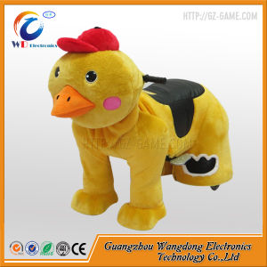 Coin Operated Plush Animal Ride with LED Lights for Sale pictures & photos