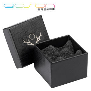 Hot Stamping Leatherette Gift Packaging Box/ Jewelry Box pictures & photos