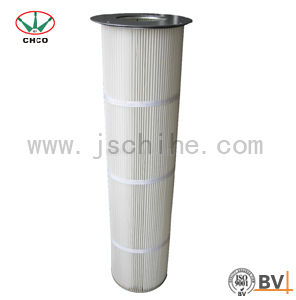 Flange Powder Coating Cartridge Filter (CH 986) pictures & photos
