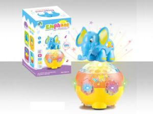 Kids Electric Elephant Toy with Light & Music (H9592006) pictures & photos