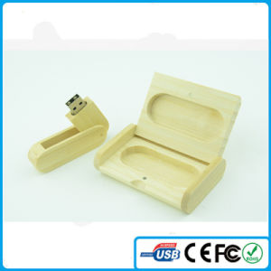 China Wooden USB with Custom Logo Wholesale Cheap