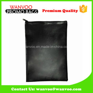 Hot Selling High Quality Leather Document Wallets with Zipper pictures & photos