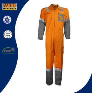 100% Cotton Men′s Flame Retardant Coverall