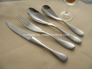 Customized for 5 Star Hotels High Quality Stainless Steel Knives Forks Spoons Tableware Set pictures & photos
