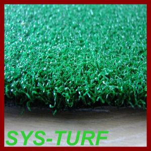 High Density PE Curly Yarn Artificial Grass for Gateball pictures & photos