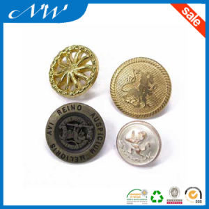 Various Designs Metal Button Alloy Button with Back Side Hook pictures & photos