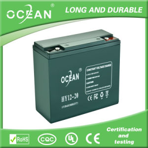 Gel Battery for UPS 20 Ah Battery Gel Solar 12V