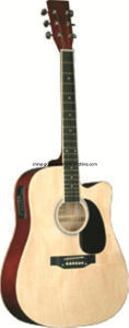 41′′ Cutaway Acoustic Guitar with EQ pictures & photos