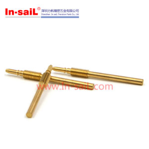 CNC Machining and Turning Brass Micro Engineering Pins pictures & photos