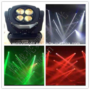 Newest Super High Power 4PCS 25W LED Beam Moving Head Light pictures & photos