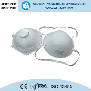 Ce or Niosh Approved Filtered Cone Respirator pictures & photos