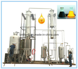 20 Tons Per Day Waste Motor Oil Refinery Machine with Distillation Technology pictures & photos
