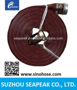 High Quality Discharge Garden Irrigation PVC Layflat Water Hose pictures & photos