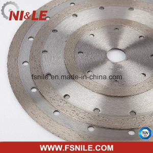 Continuous Rim Edge Diamond Saw Blade for Stone