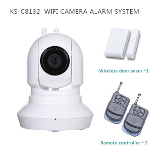 720p HD Megapixels WiFi Wireless Home Security Camera with Android/Ios/Cms