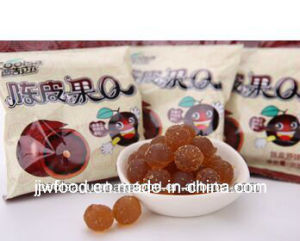 Fruit Flavor Sugar Coated Gummy Candy in Polybag pictures & photos