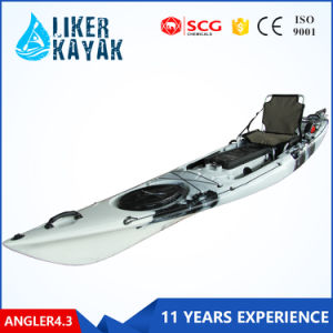Zhejiang Supplier Offer Gym Equipment The LLDPE Ocean Fishing Kayaks for Sale pictures & photos