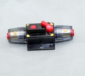 30A Car Audio Inline Circuit Breaker Fuse for 12V Protection pictures & photos