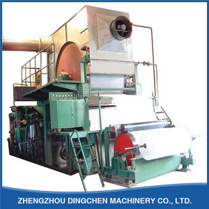 Business plan for a toilet paper machine