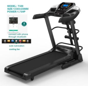 2016 New Fitnes, Small Home Cheap Treadmill (T500) pictures & photos