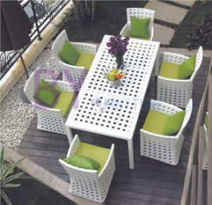 7 PCS Dining Room Outdoor Garden Patio PE Rattan Furniture pictures & photos