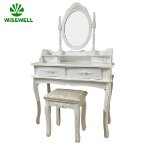 MDF Bedroom Mirrored Dresser Designs for UK (W-HY-001) pictures & photos