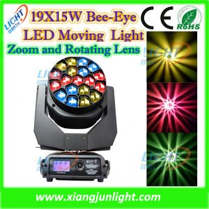 19X15W Bee Eye Beam Moving Head LED pictures & photos