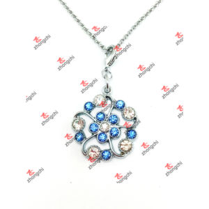 Fashion Crystal Flower Necklace / Earrings Set for Lady Gifts (FNE50908) pictures & photos