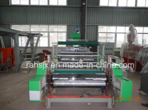 Single Layer Extrusion PE Stretch Film Machine pictures & photos