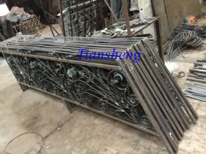 Wrought Iron Handrail pictures & photos