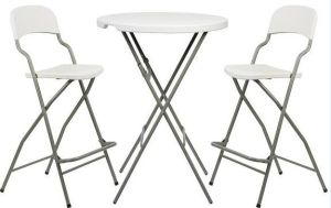 High Luxurious Bar Bistro Round Folding Table for Wedding pictures & photos