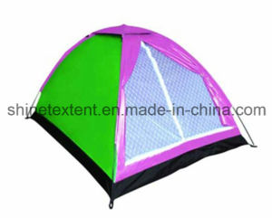 2 Person One Layer Camping Tent Dome Tent Beach Tent pictures & photos
